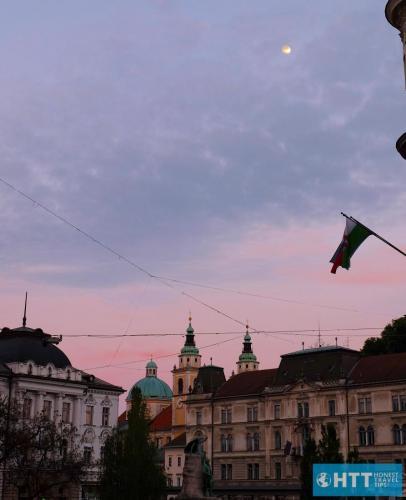Ljubljana sunset