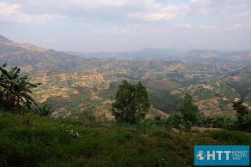 Rwanda Hillside View